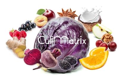 CuliMatrix: Auswahl von Zutaten die mit Rotkohl harmonieren